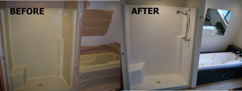 Fiberglass Shower Surrounds And Pans Advanced Refinishing